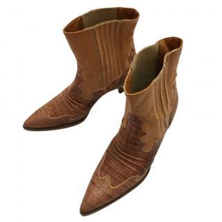 Ermanno Scervino western booties