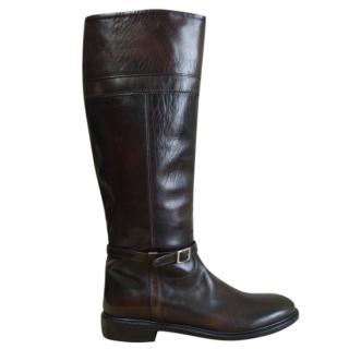 Fabiana Filippi brown leather boots