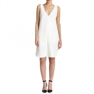 T by Alexander Wang White Strappy Back Shift Dress