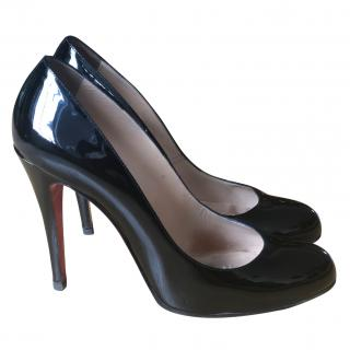 Christian Louboutin Simple patent leather 110 mm pumps