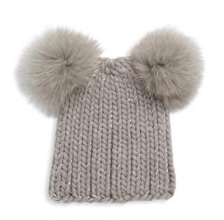 Eugenia Kim Mimi Fox Fur Bobble Hat