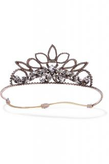 Ericsson Beaumon Princess rose gold-plated crystal headband