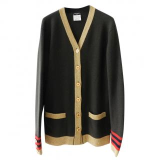 Chanel Paris Moscow cashmere cardigan
