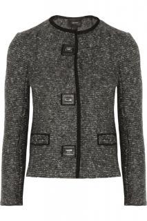 Isabel Marant Tweed Jacket with Leather Twin Lock