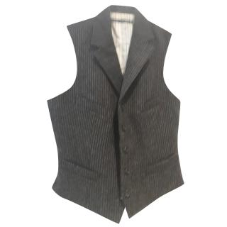 Ralph Lauren pinstriped wool gilet