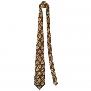 Lanvin ornate-print silk tie - New Season