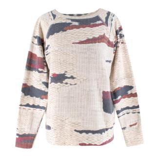 Isabel Marant Etoile Abstract Pattern Sweatshirt