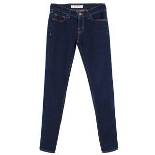J Brand dark denim skinny leg jeans