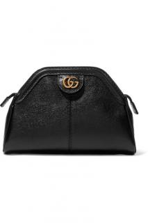 Gucci Belle black leather clutch