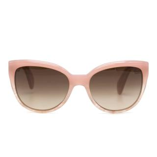 Oliver Peoples 'Abrie' Pink Topaz Sunglasses