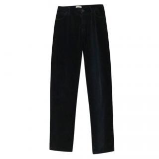 Dolce & Gabbana boy's velvet trousers