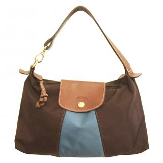 Longchamp Pliage colour-block small bag