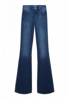 M.i.H Blue Marrakech High Rise Kick Flared Jeans