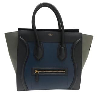 Celine Mini Luggage Leather Handbag