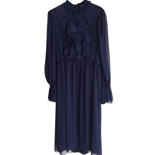 See by Chloe maximarine chiffon dress