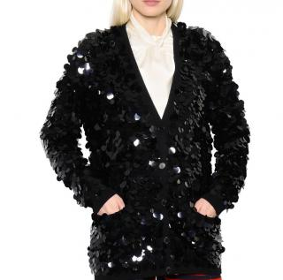 Sonia Rykiel sequin knit cardigan