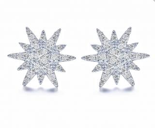 Fei Liu Snowflake Earrings