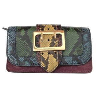 Burberry Limited Edition Patchwork Snakeskin & Leather Purse
