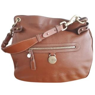 Mulberry Somerset grained leather camel tote