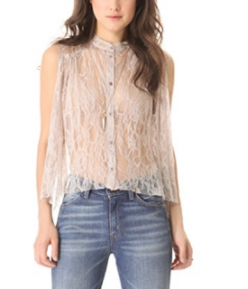 Raquel Allegra French Lace Top