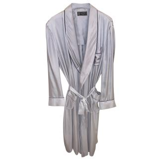 Lanvin silk dressing gown