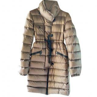 Moncler libellule bronze padded Coat