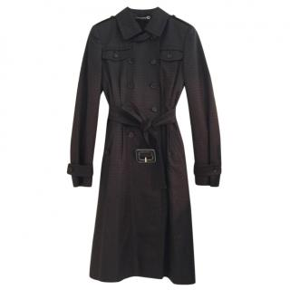 Guci GG Double-breasted trench coat