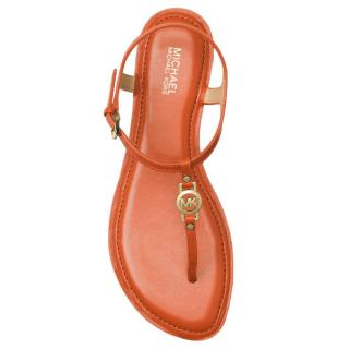Michael Michael Kors Bethany Orange Thong Sandals