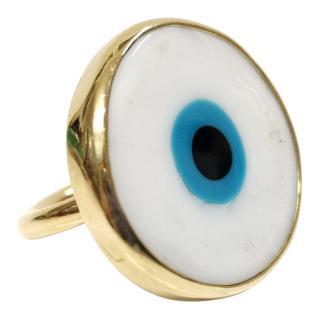 Elena Votsi Handmade Evil Eye Ring