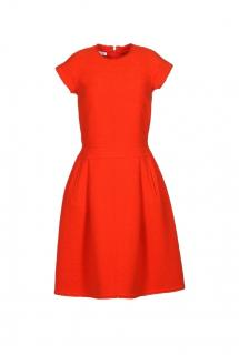 Oscar de la Renta sleeveless wool dress