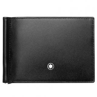 Mont Blanc leather money-clip wallet