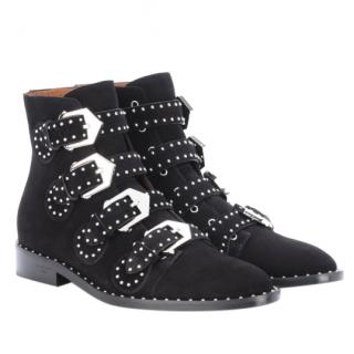 Givenchy studded suede ankle boots