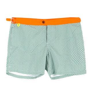 Gili's Khaki Print Trawangan Board Shorts