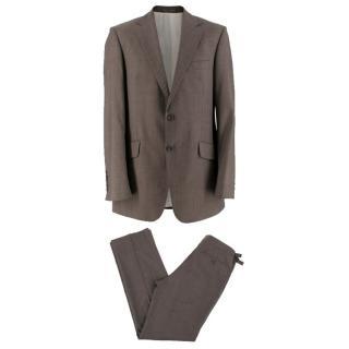 Richard James Brown wool-blend Suit