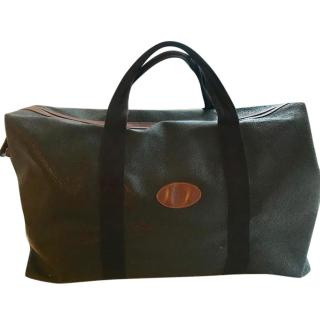 Mulberry 48 hour leather holdall bag