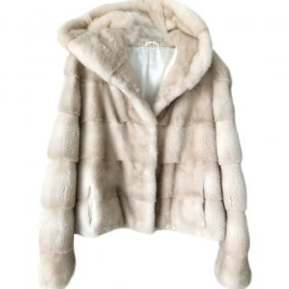 e00744047534 Natural Palomina Mink Jacket