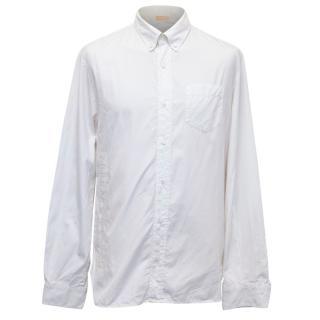 John Galliano oversized classic white shirt