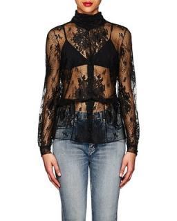 Balenziaga lblack ace blouse