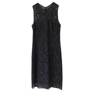Joseph sleeveless lace bodycon dress