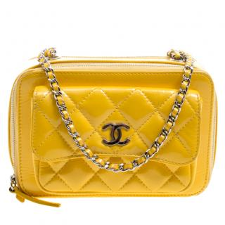 Chanel Quilted Patent Leather cross-body bag