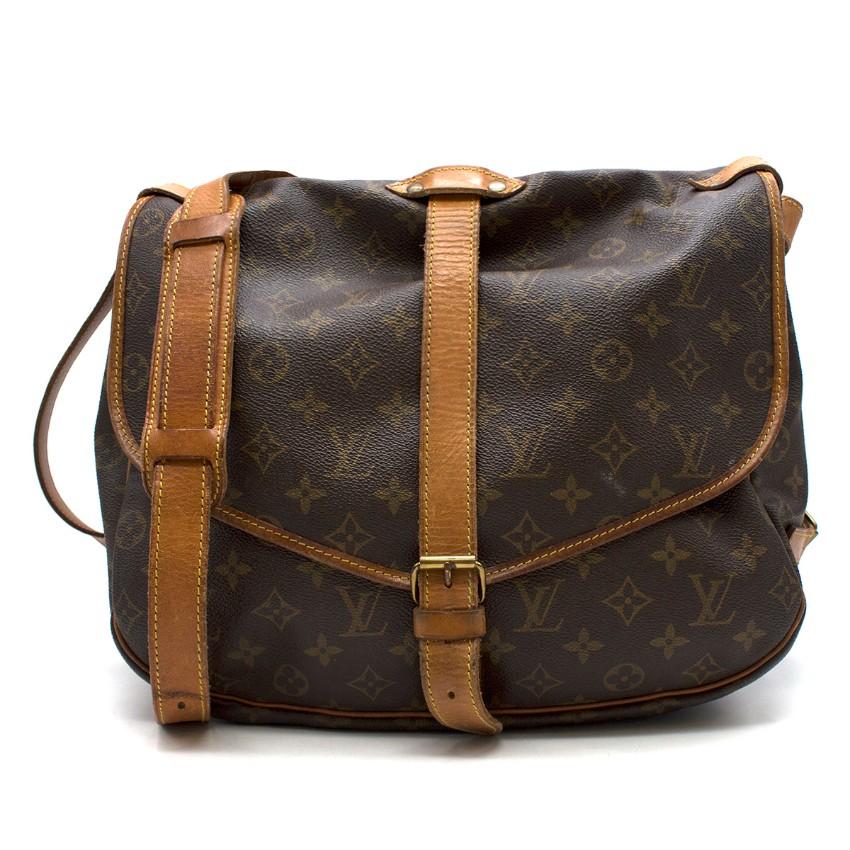 Louis Vuitton Saumur 35 10473 Monogram Shoulder Bag