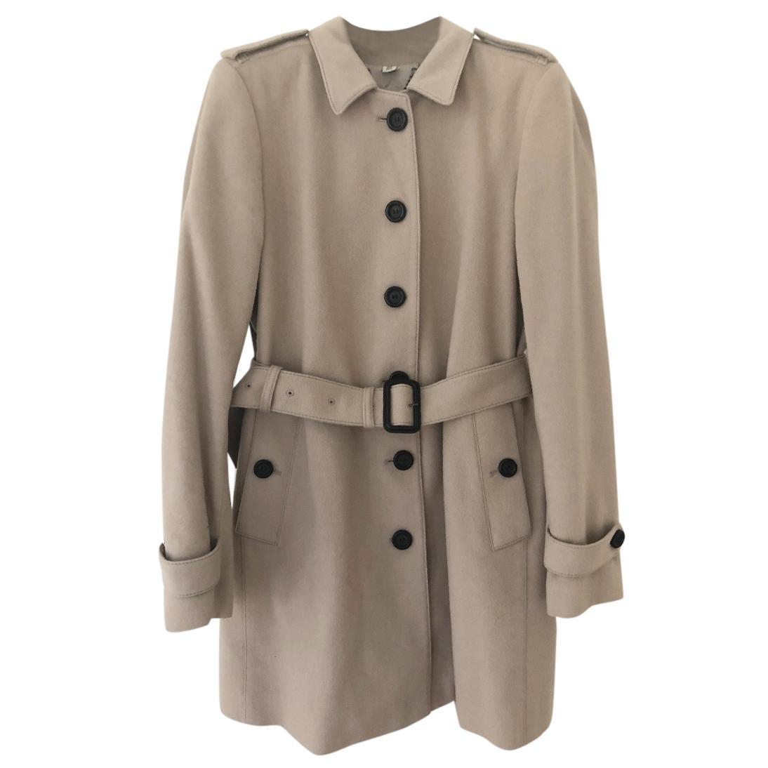75fd7d1f1853b Burberry Wool Nylon Belted Coat