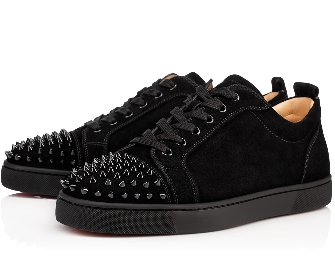 cheap for discount d69e4 74607 Christian Louboutin Louis Junior Spikes