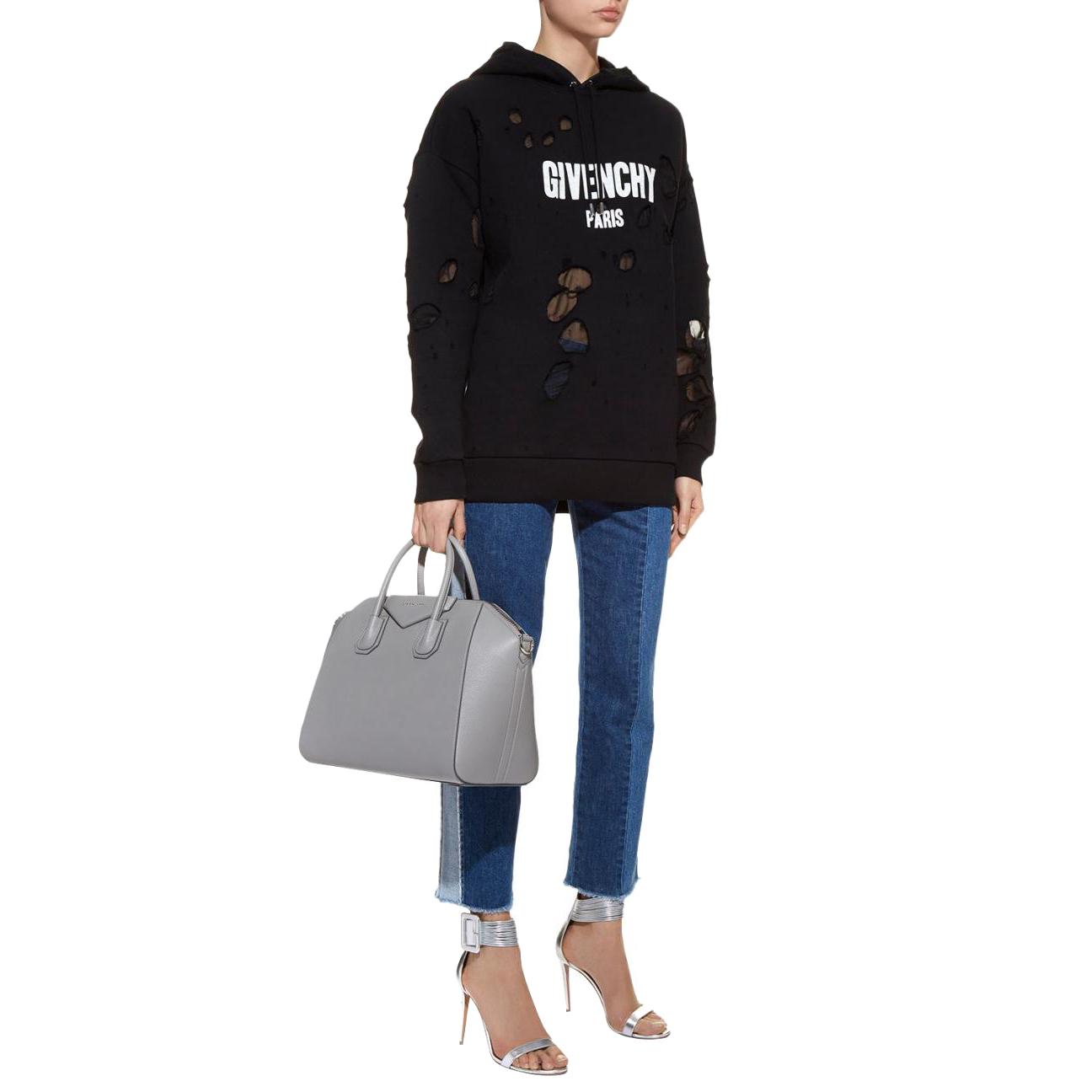 b594f43bf904db Givenchy Paris Destroyed Hooded Sweatshirt   HEWI London