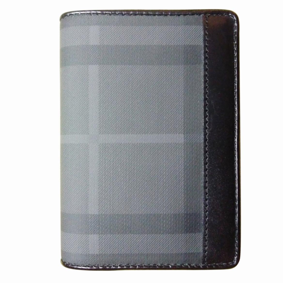 Burberry bi-fold checked wallet
