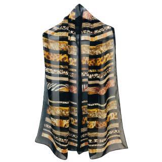 Salvatore Ferragamo multi-print scarf