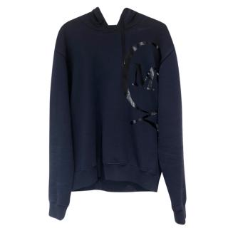 McQ by Alexander McQueen navy hooded sweatshirt