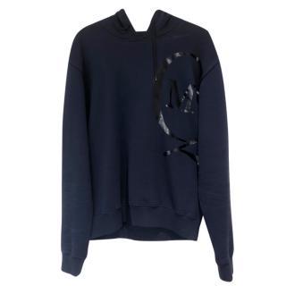McQ by Alexander McQueen navy hooded sweatshirt