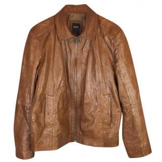 Hugo Boss Leather Blouson Jacket