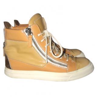 Giuseppe Zanotti Patent Leather Sneaker